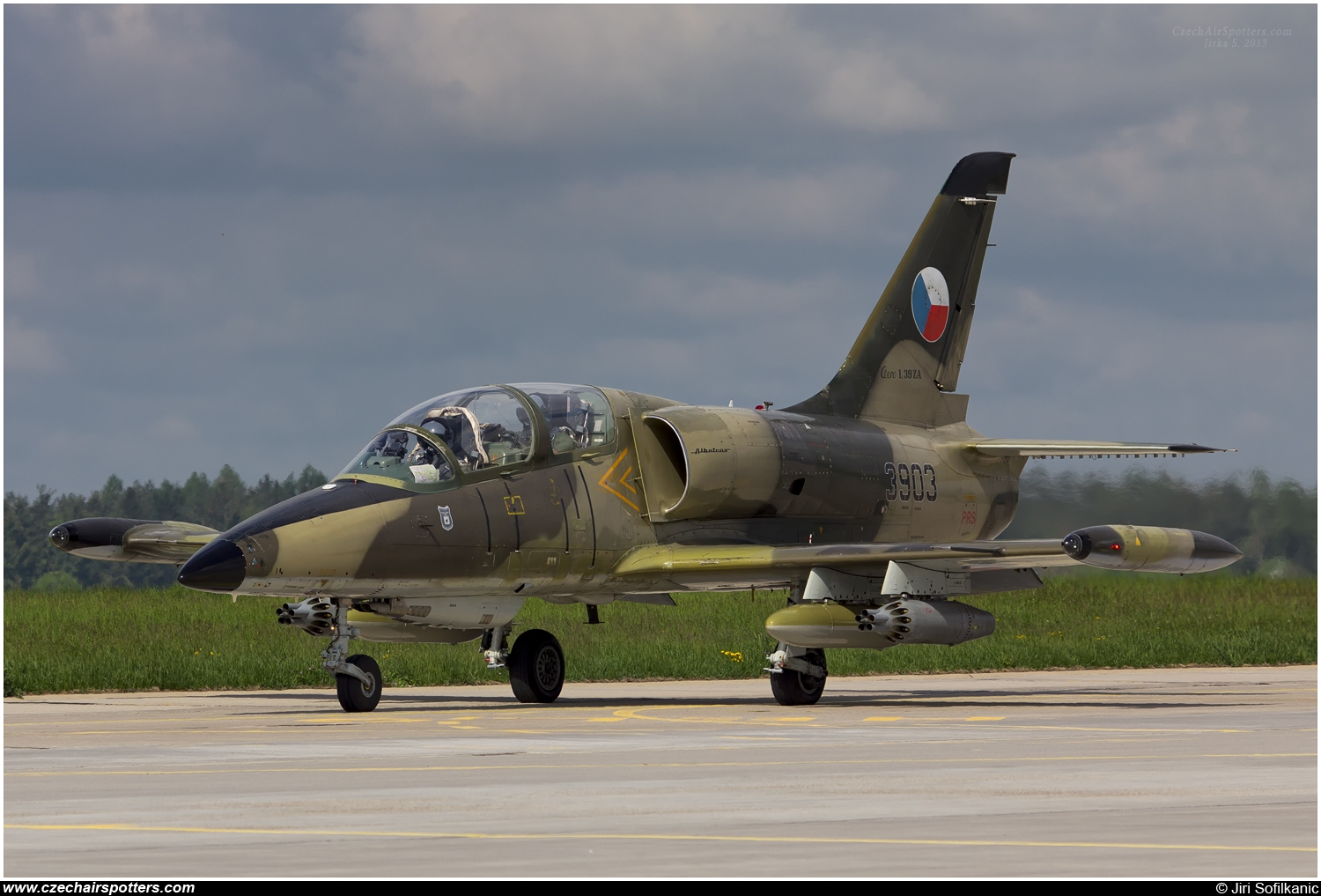 Czech - Air Force – Aero L-39ZA Albatros 3903