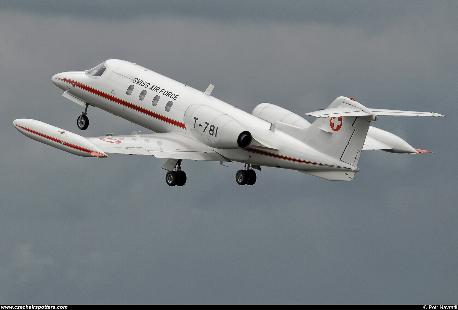 Switzerland - Air Force – Bombardier Gates Learjet 35A T-781