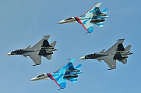 Russia - Air Force – Sukhoi Su-27 UB Flanker C VARIOUS