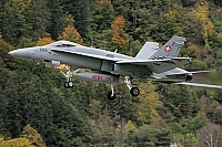 Switzerland - Air Force – McDonnell Douglas F/A-18C Hornet J-5005