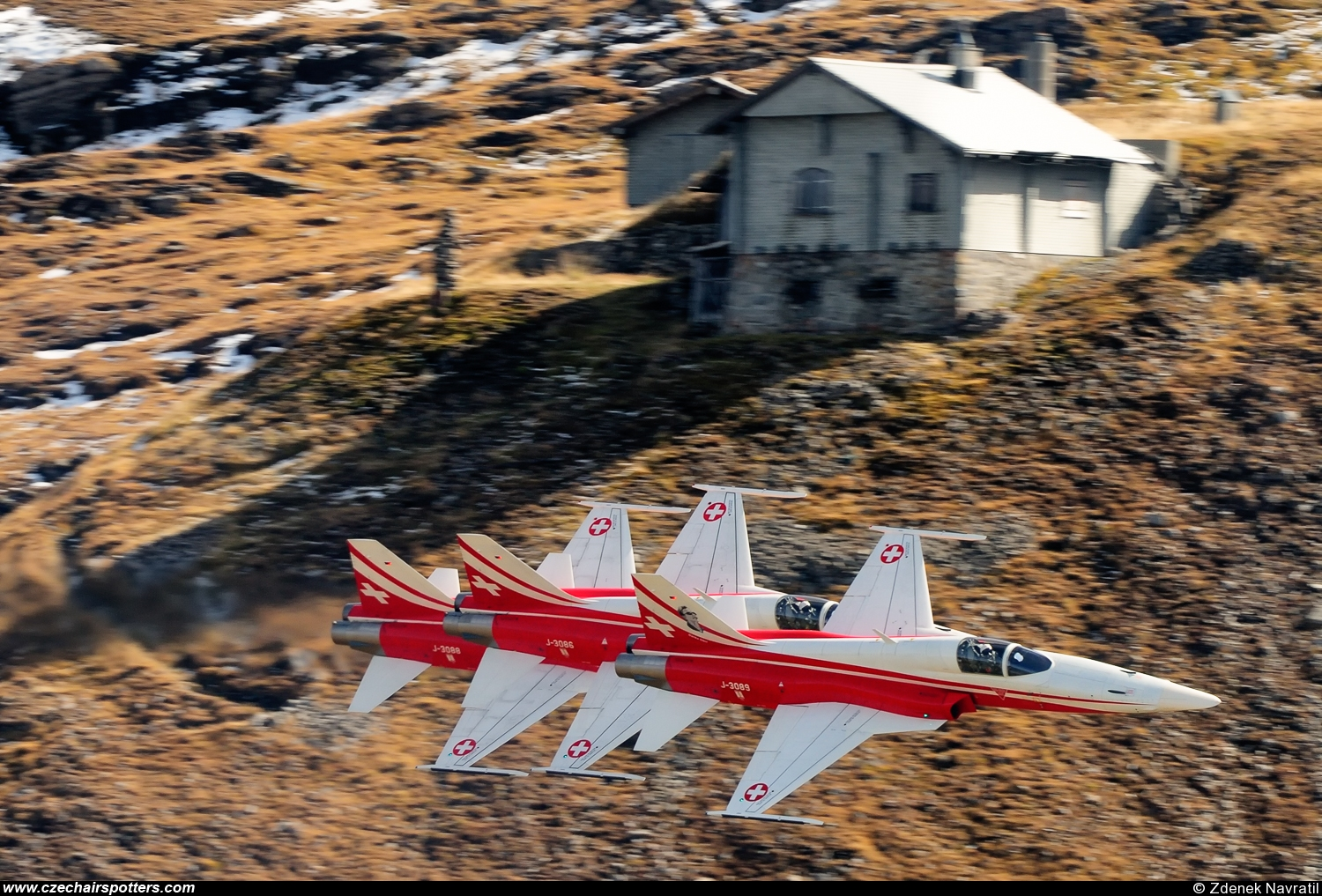 Switzerland - Air Force – Northrop  F-5E Tiger II  J-3089