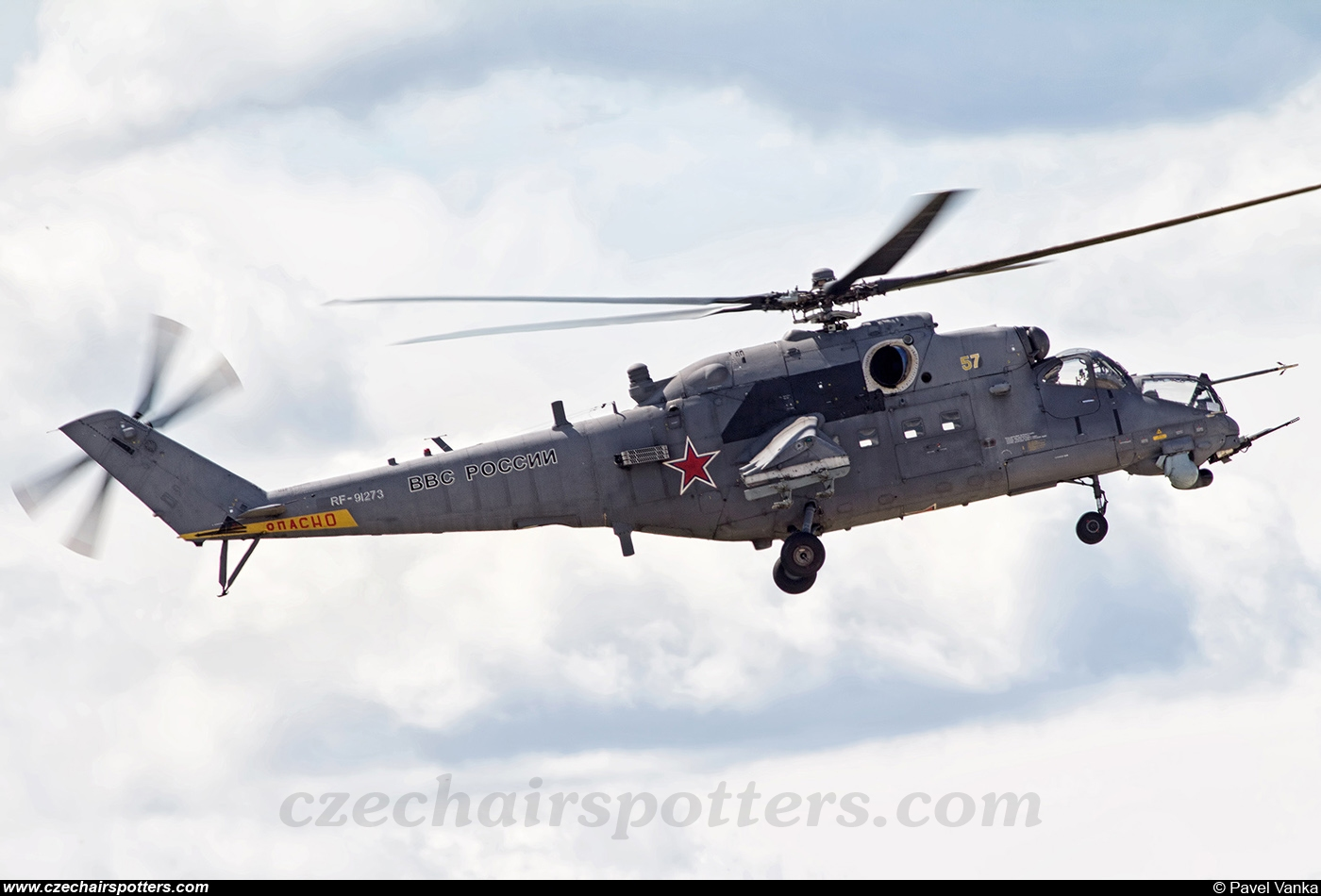 Russia - Air Force – Mil Mi-24V Hind 57