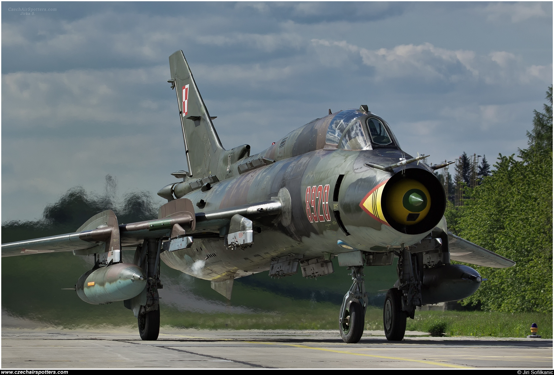 Poland - Air Force – Sukhoi Su-22 M-4 Fitter 8920