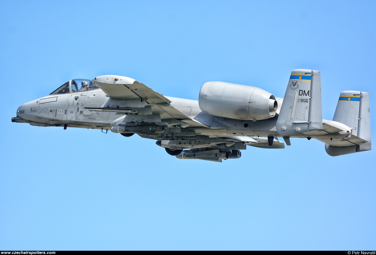 USA - Air Force – Fairchild A-10C Thunderbolt II 81-965/DM
