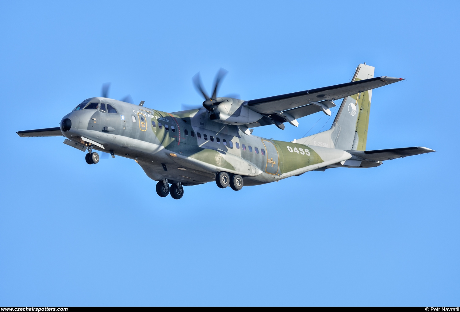 Czech - Air Force – CASA C-295M 0455
