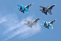 Russia - Air Force – Sukhoi Su-30SM Flanker C 56 RED/RF-93666