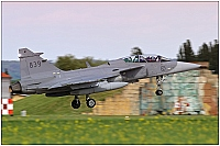 Sweden - Air Force – Saab JAS39D Gripen 839