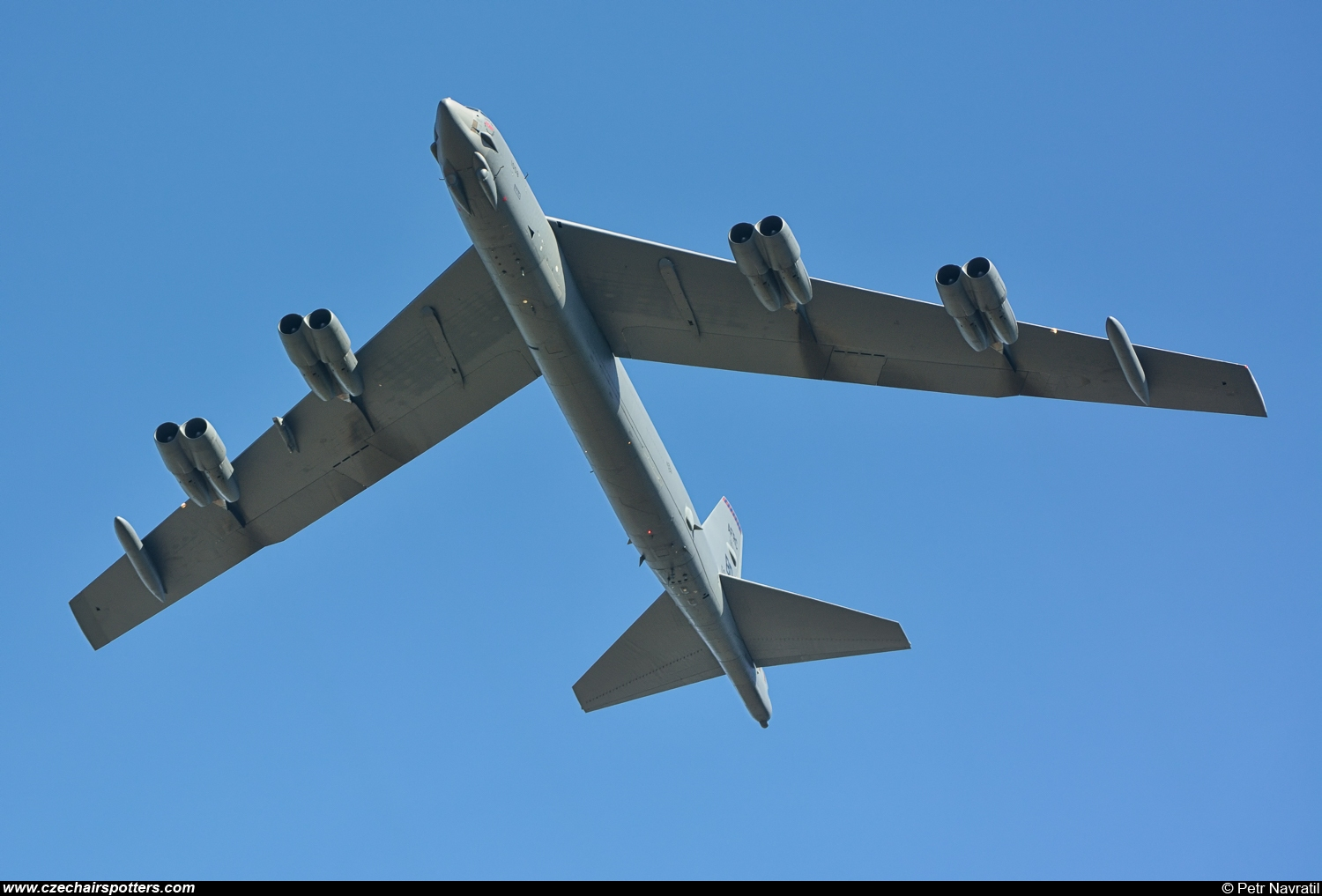 USA - Air Force – Boeing B-52H Stratofortress 61-0008/BD