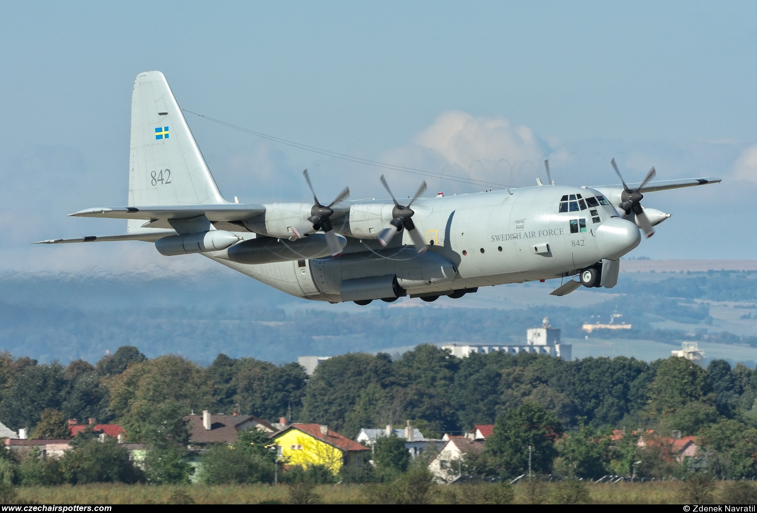 Sweden - Air Force – Lockheed Tp84 Hercules (C-130H/L-382) 842