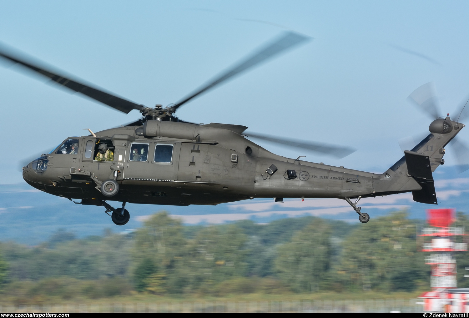Sweden - Air Force – Sikorsky S-70A Black Hawk 11