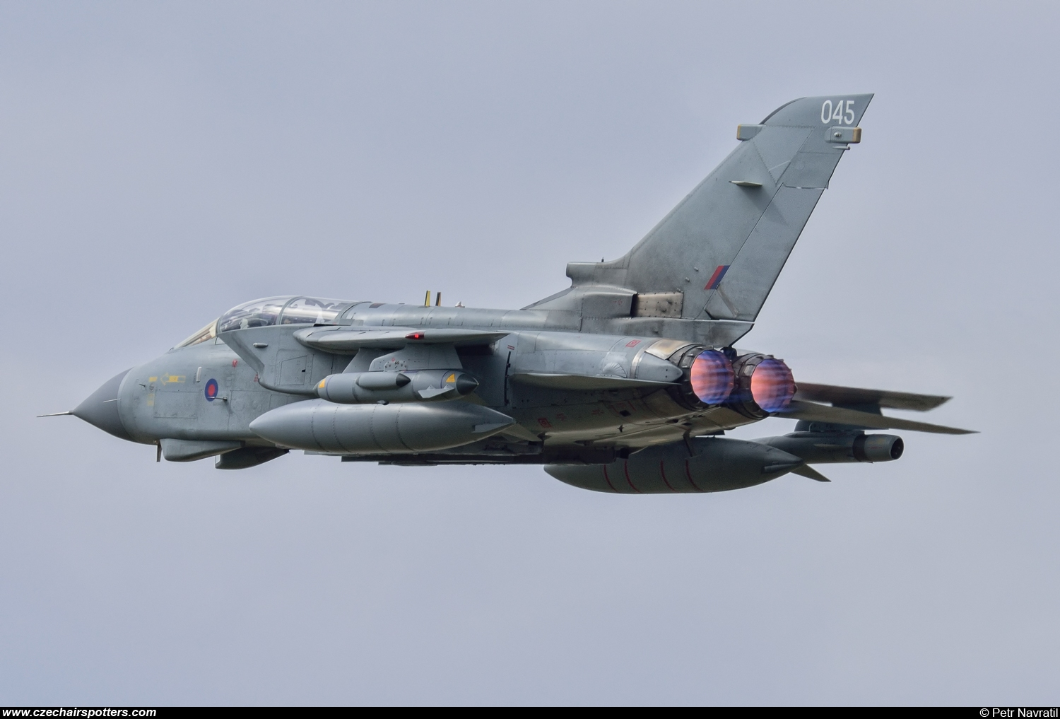 UK - Air Force – Panavia  Tornado GR4 ZA553/045