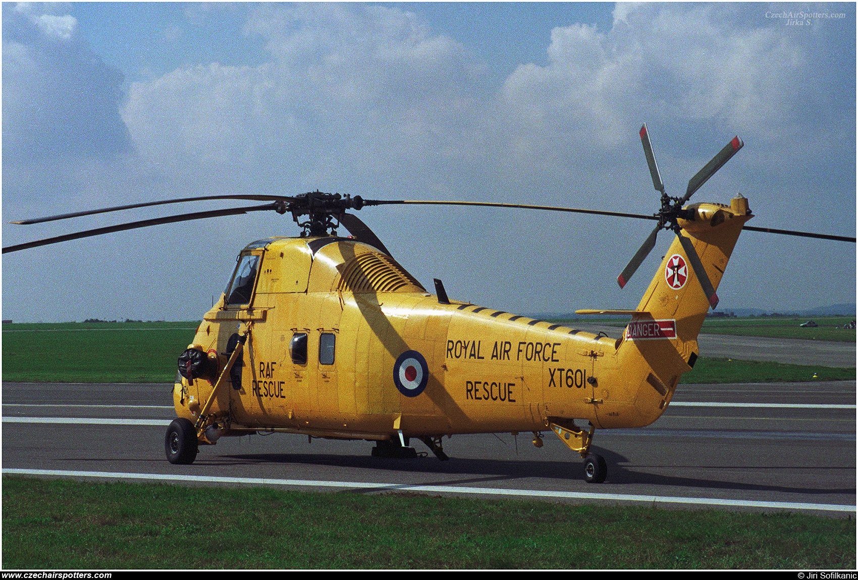 UK - Air Force – Westland Helicopters Wessex HC.2 XT601