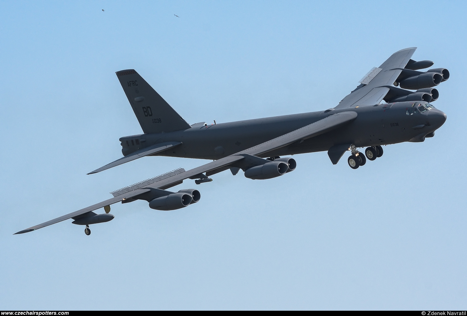 USA - Air Force – Boeing B-52H Stratofortress BD 60-0038