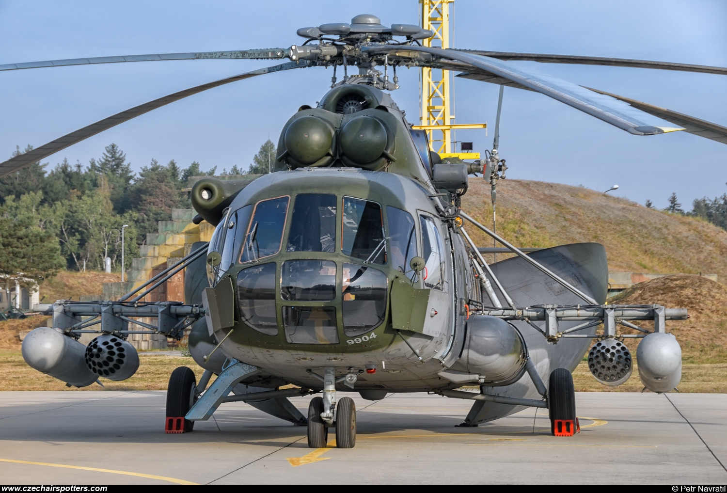 Czech - Air Force – Mil Mi-171Sh Hip  9904