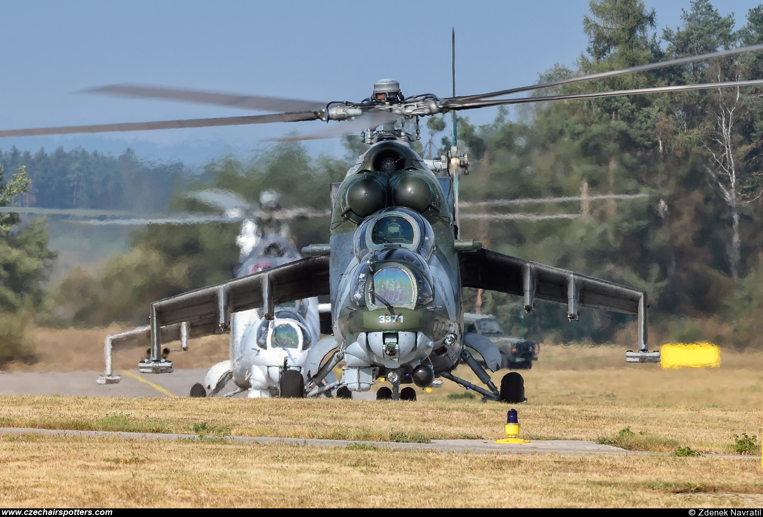 Czech - Air Force – Mil Mi-24V Hind 3371