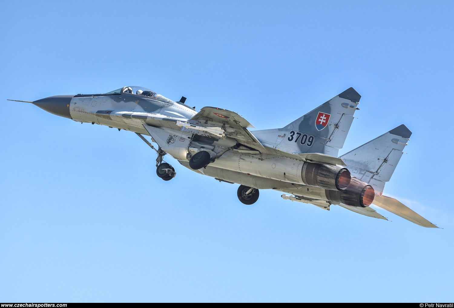 Slovakia - Air Force – Mikoyan-Gurevich MiG-29AS / 9-12A 3709