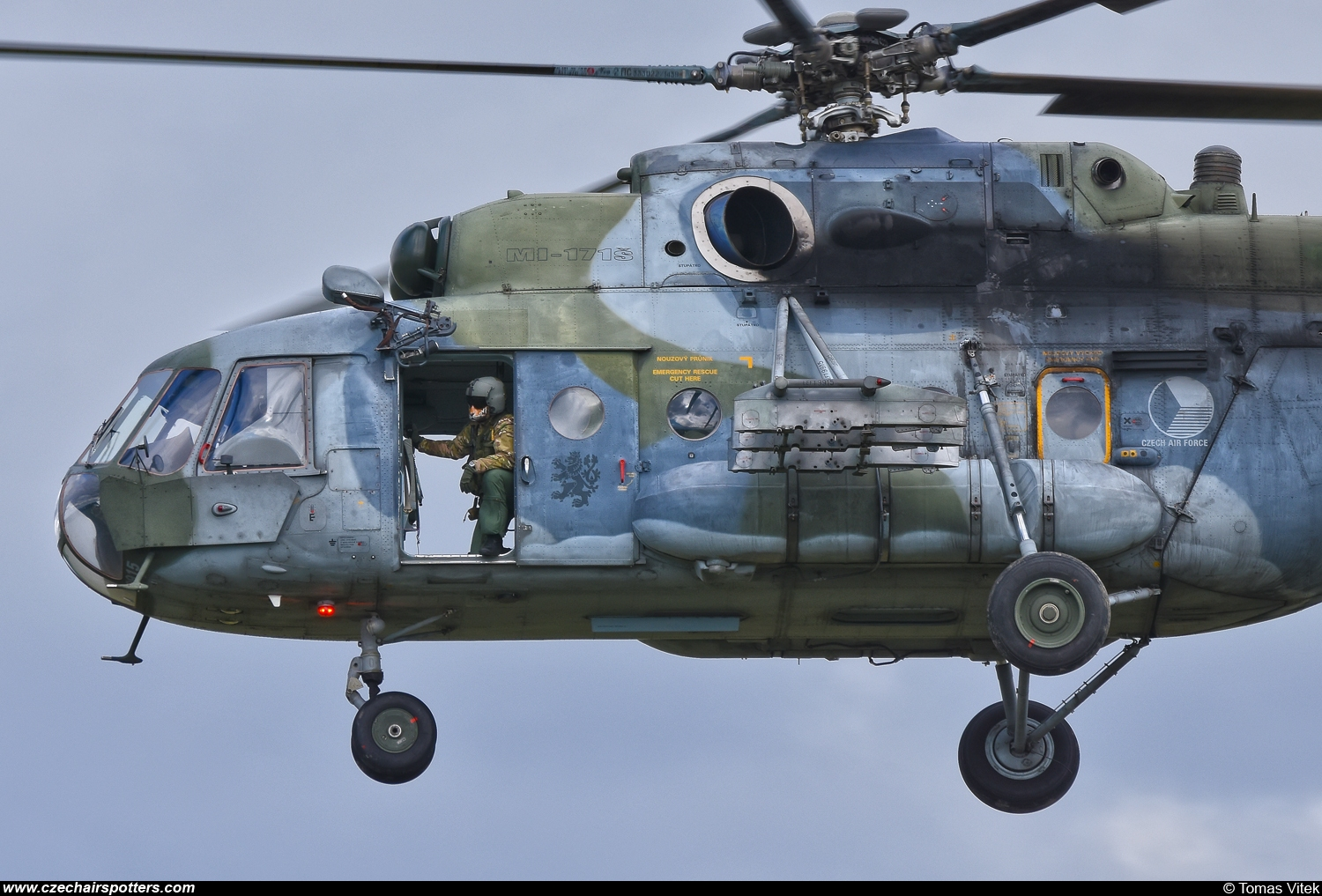 Czech - Air Force – Mil Mi-171Sh Hip  9915
