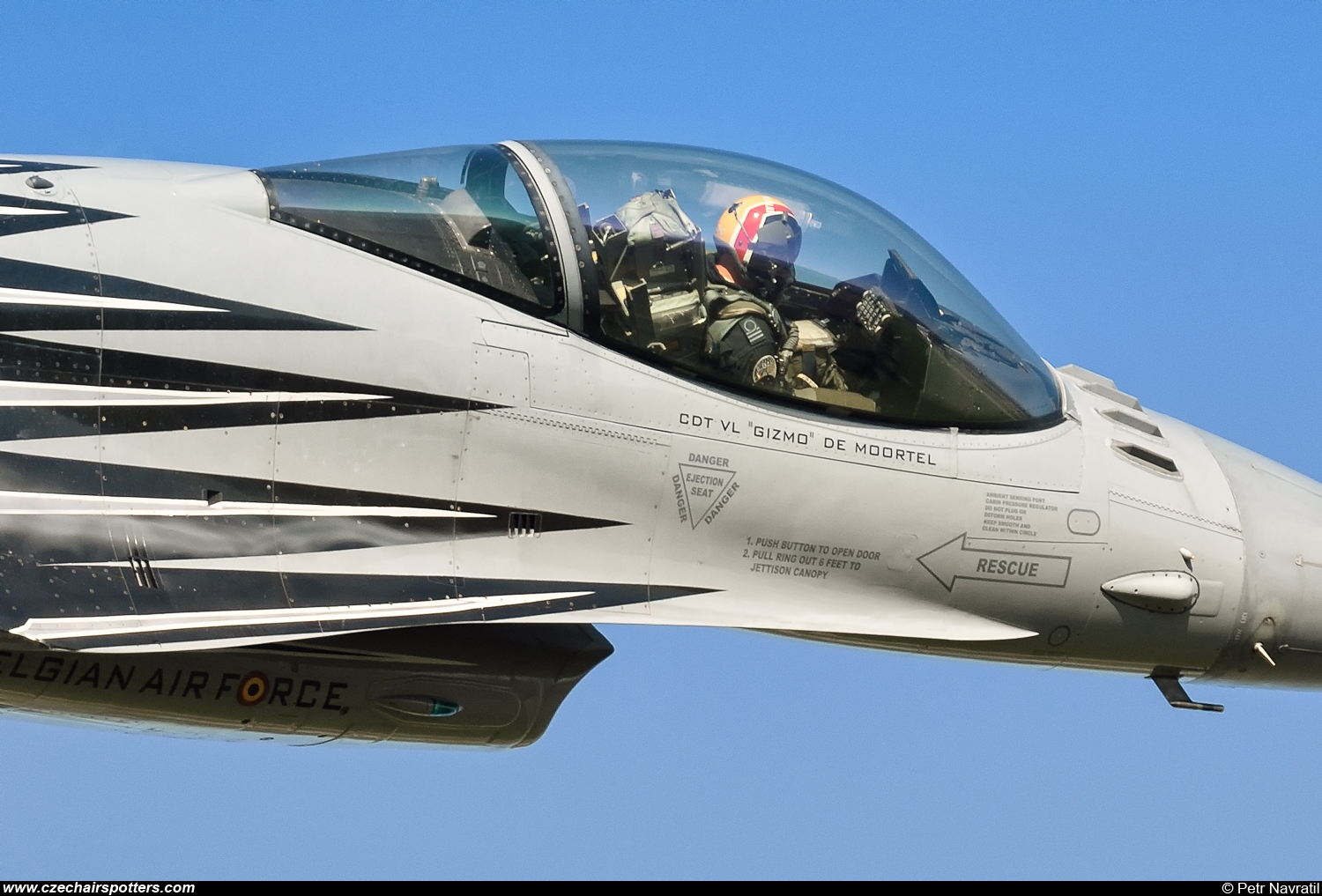 Belgium - Air Force – SABCA F-16AM Fighting Falcon FA123