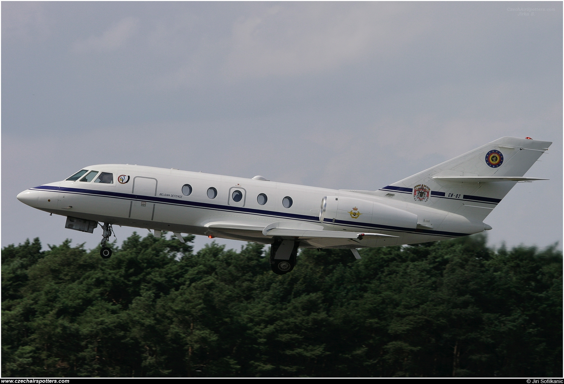 Belgium - Air Force – Dassault Falcon (Mystere) 20E-5 CM-02