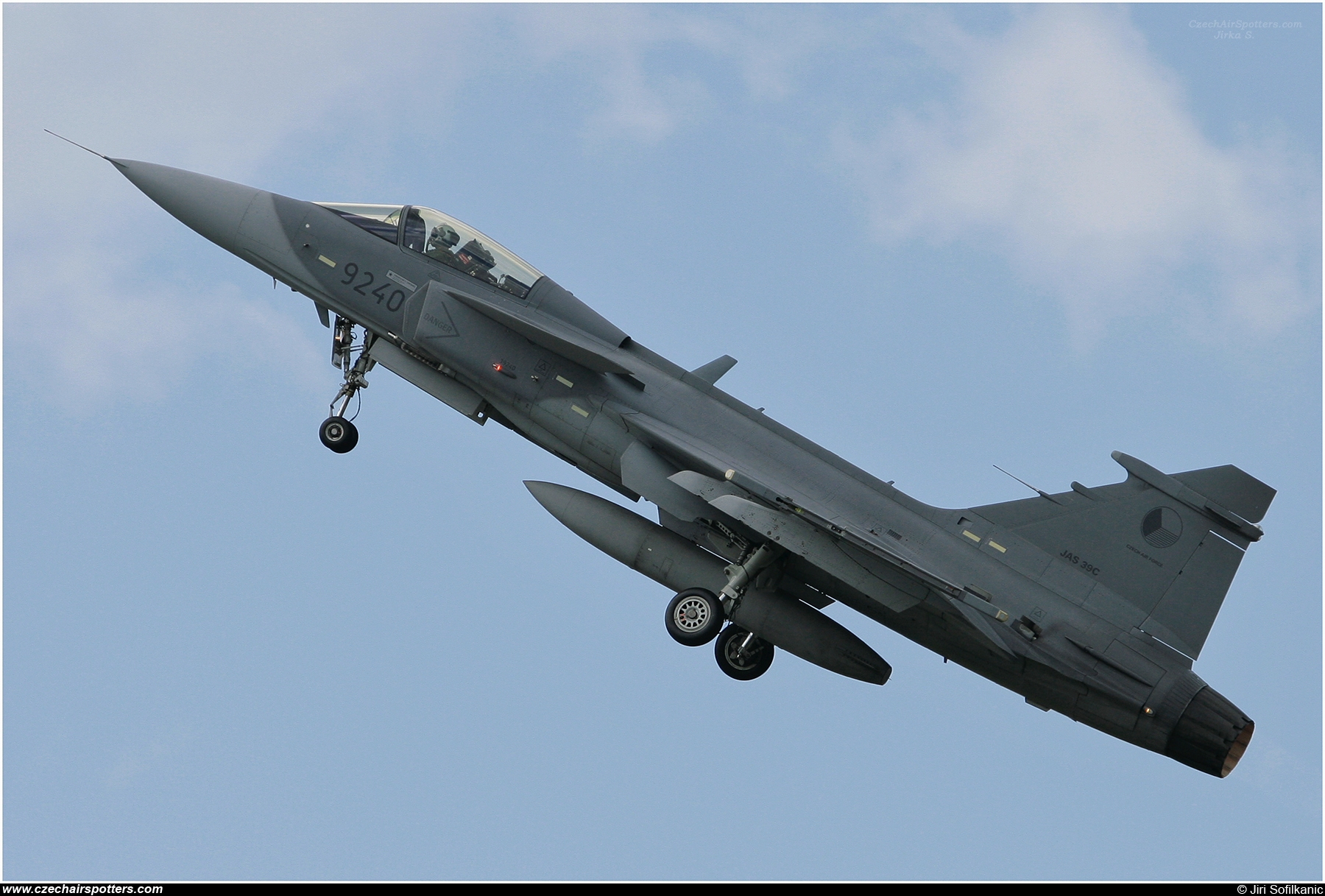 Czech - Air Force – Saab JAS39C Gripen 9240