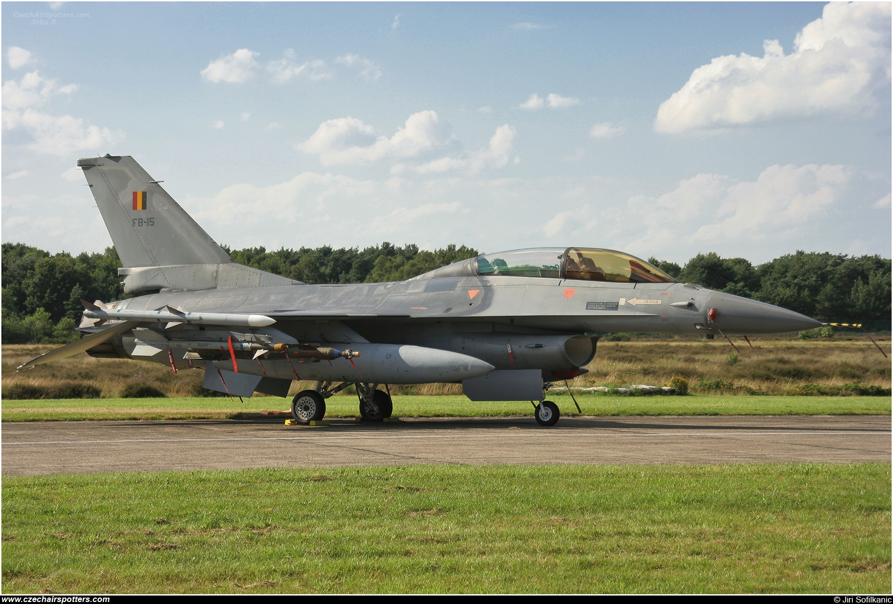Belgium - Air Force – SABCA F-16BM Fighting Falcon FB-15