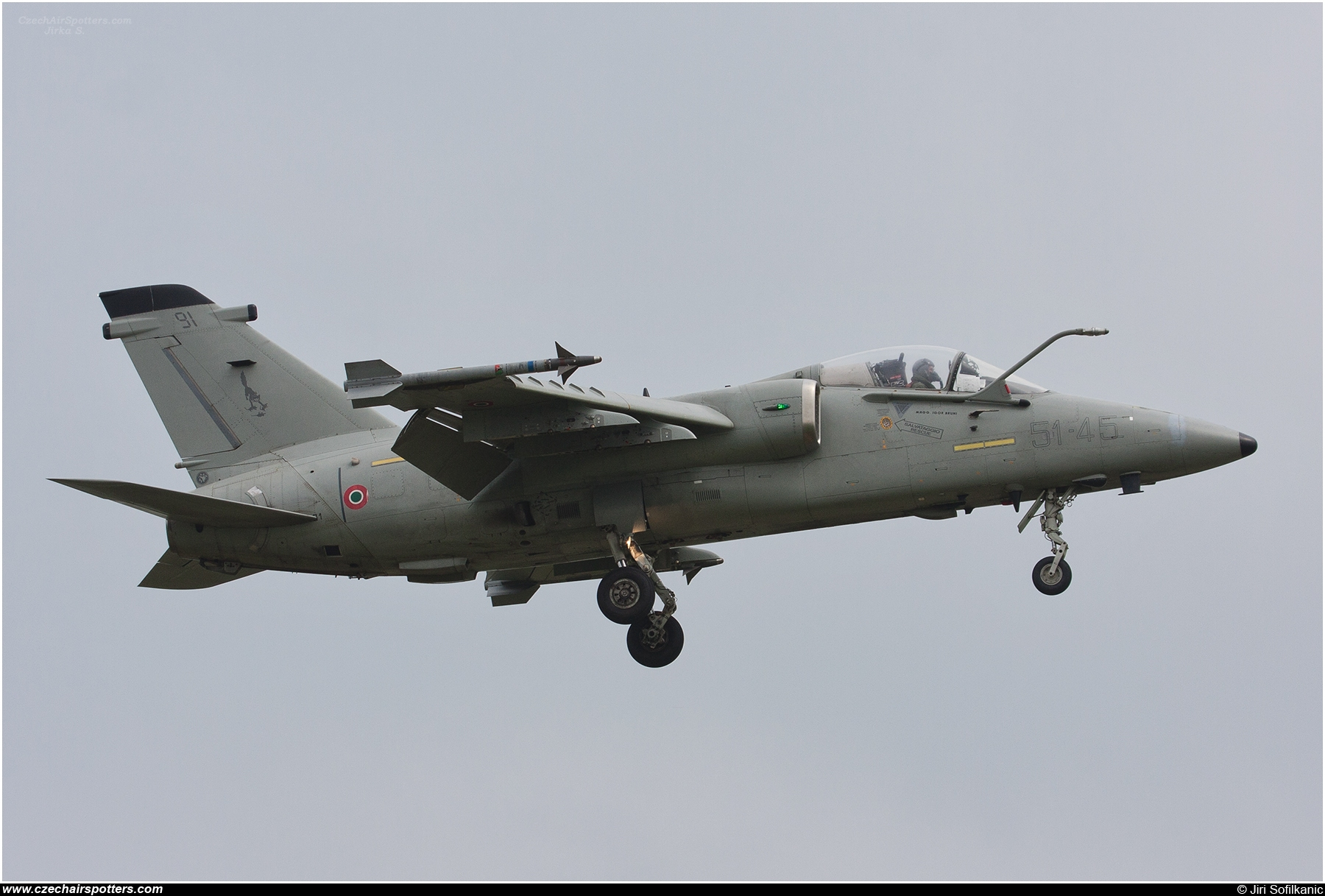 Italy - Air Force – AMX International AMX A-1A MM7191 / 51-45