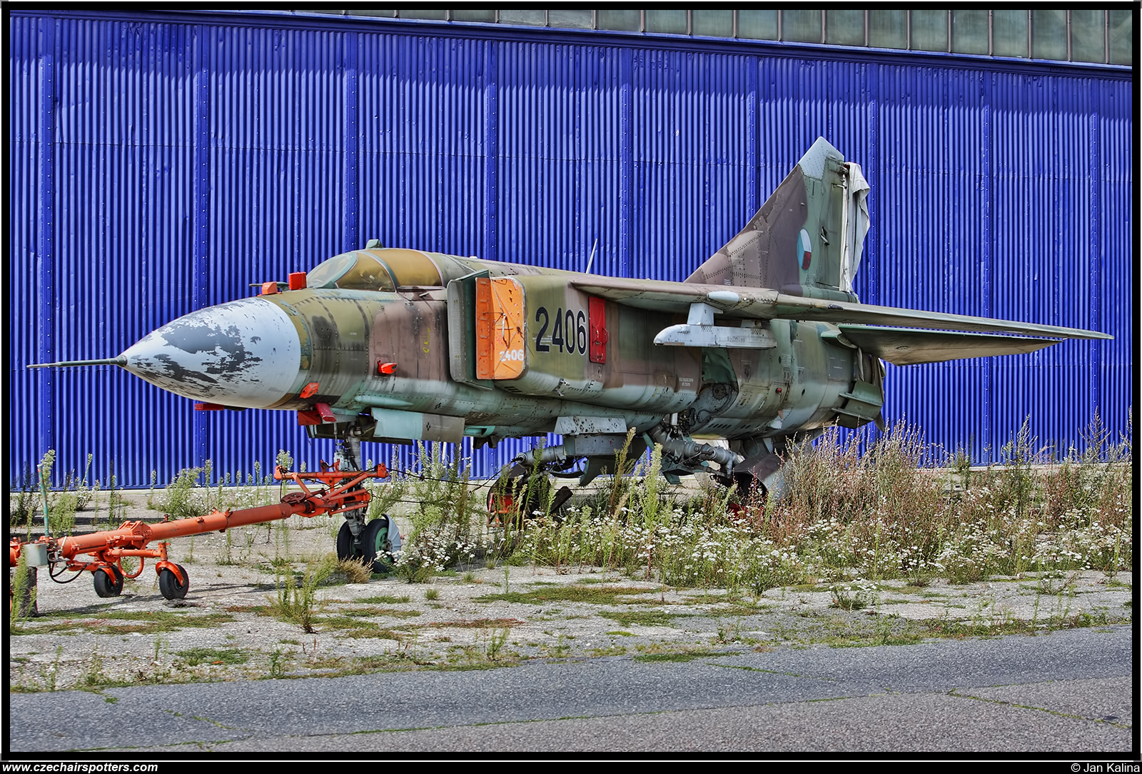 Czech - Air Force – Mikoyan-Gurevich MiG-23ML Flogger E 2406