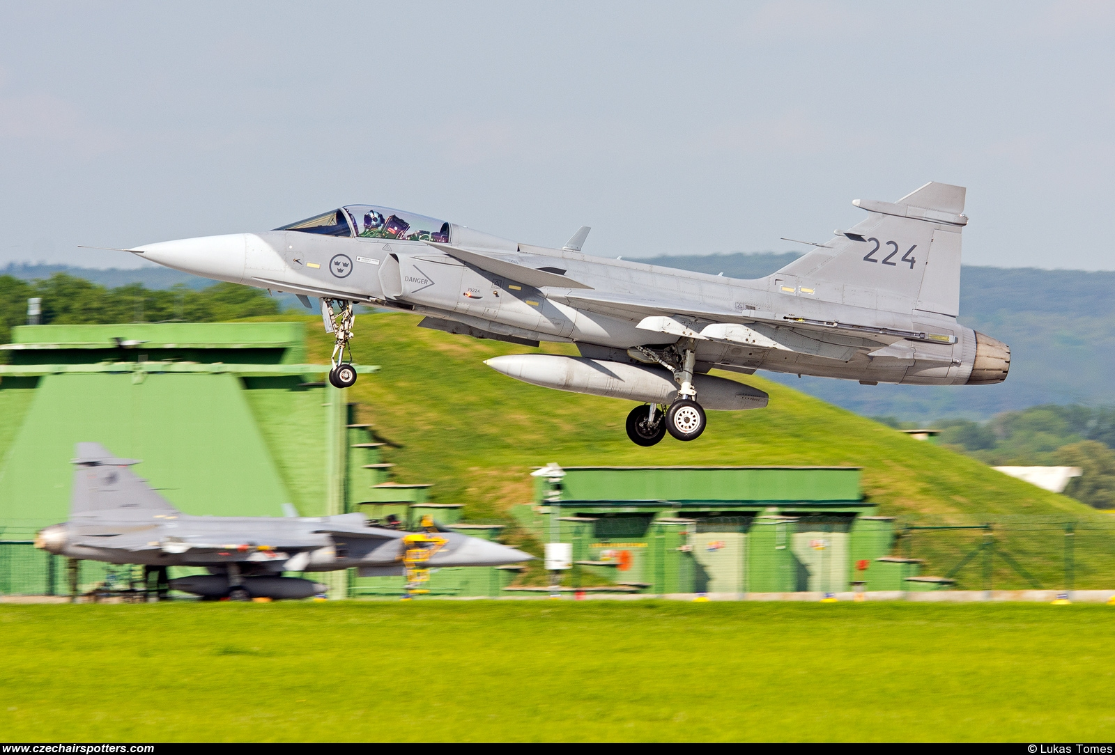 Sweden - Air Force – Saab JAS39C Gripen 224