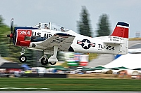 private – North American T-28B Trojan N1328B / 55-138354 / TL-354