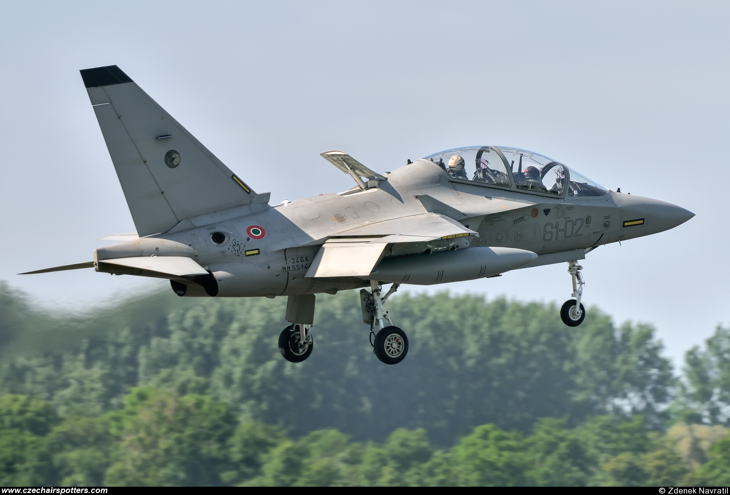 Italy - Air Force – Alenia Aermacchi T-346A Master 61-02