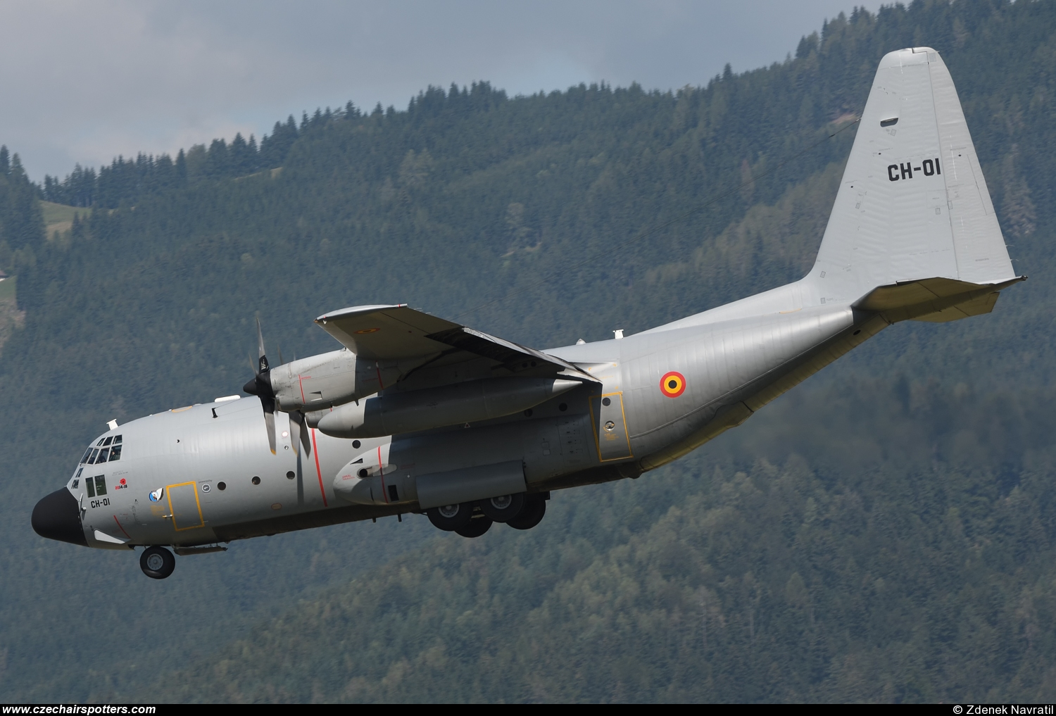 Belgium - Air Force – Lockheed C-130H Hercules CH-01