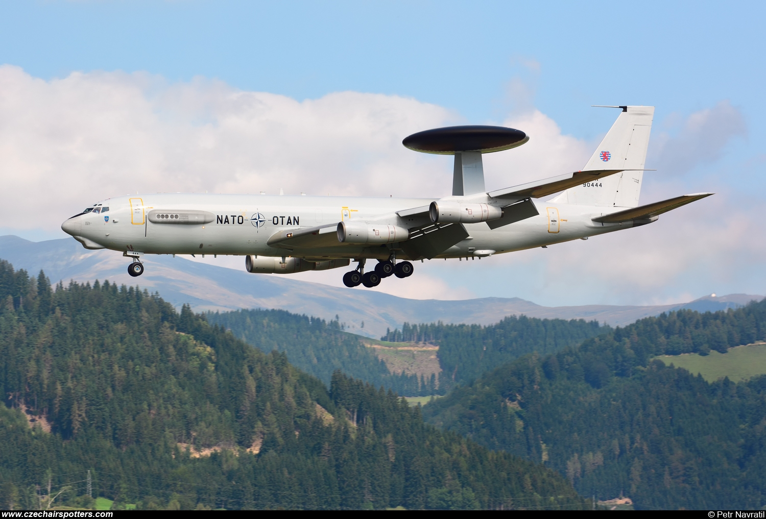 Luxembourg - NATO – Boeing E-3A Sentry LX-N90444