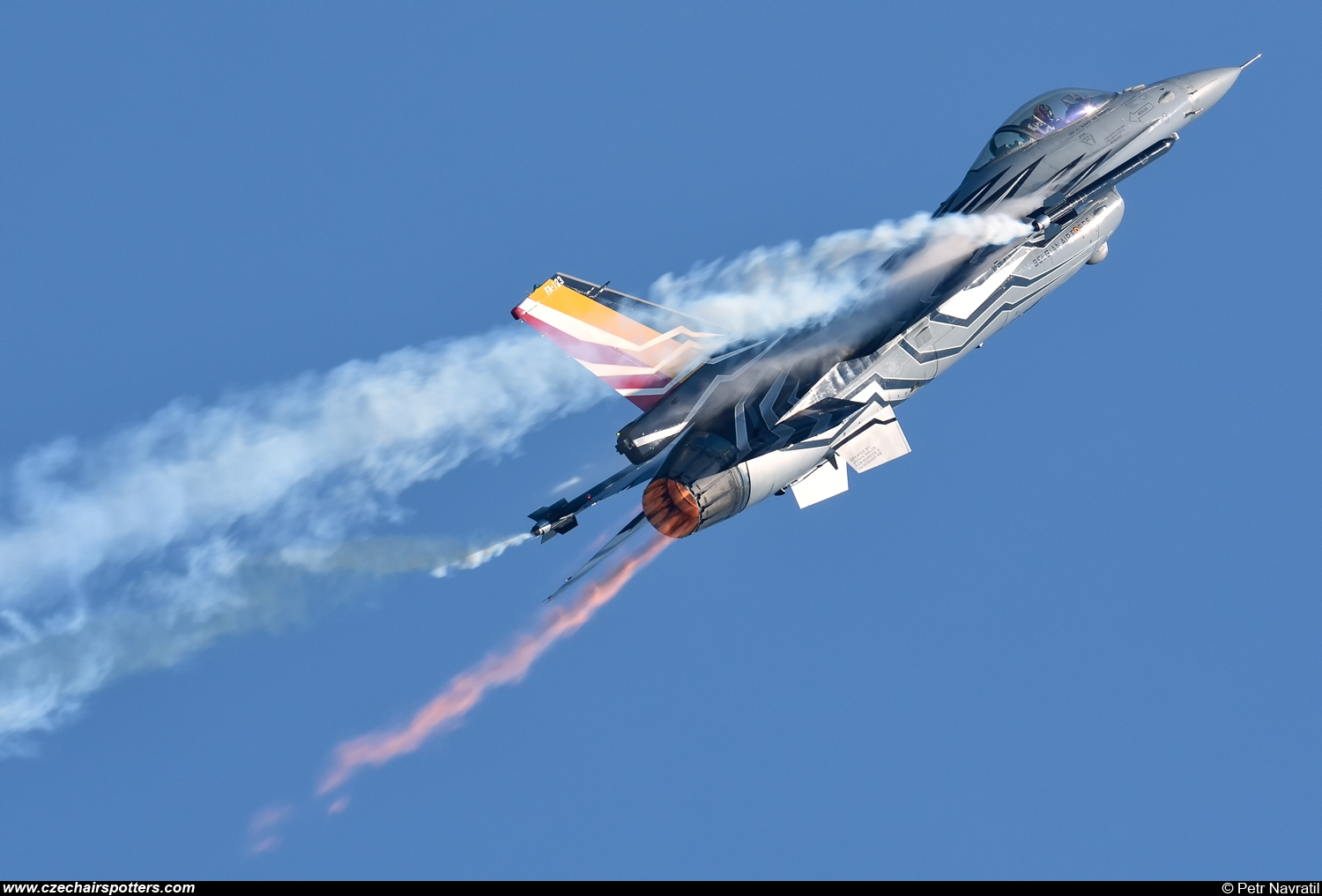 Belgium - Air Force – SABCA F-16AM Fighting Falcon FA-123