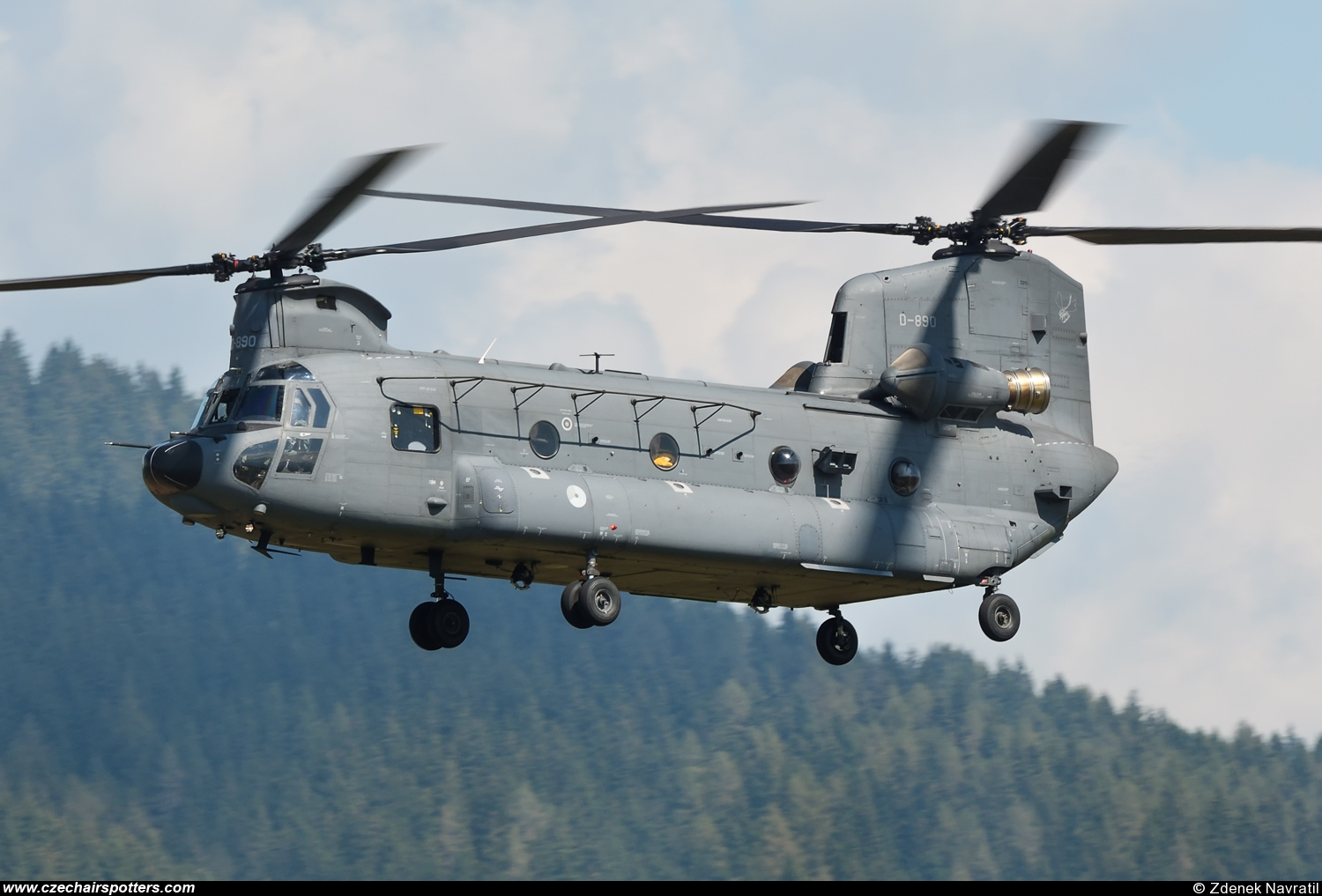 Netherlands - Air Force – Boeing CH-47F Chinook D-890