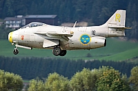 Sweden - Air Force – Saab J 29F Tunnan SE-DXB/10/R