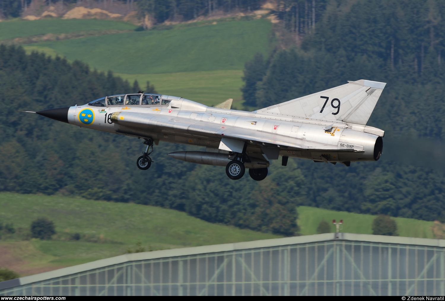 Sweden - Air Force – Saab Sk35C Draken  SE-DXP/16/79