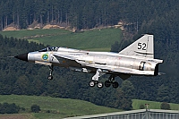 Sweden - Air Force – Saab JA37C Viggen  SE-DXN/52