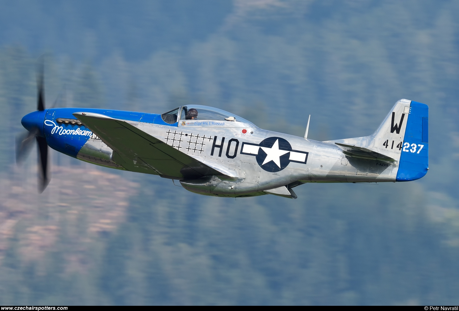 private – North American P-51D Mustang F-AZXS/HO-W/44-14237