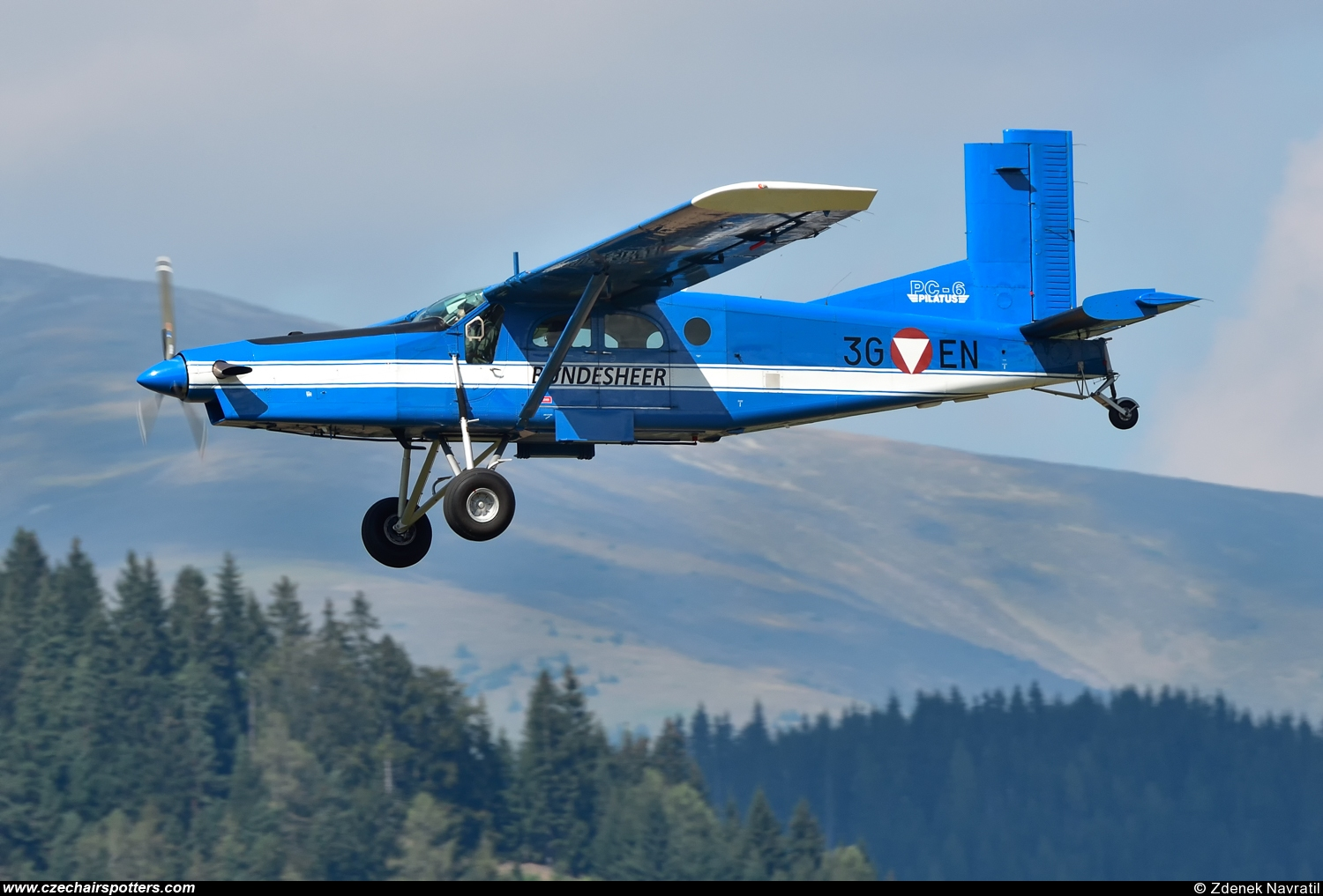 Austria - Air Force – Pilatus Aircraft PC-6/B2-H4 Turbo Porter 3G-EN