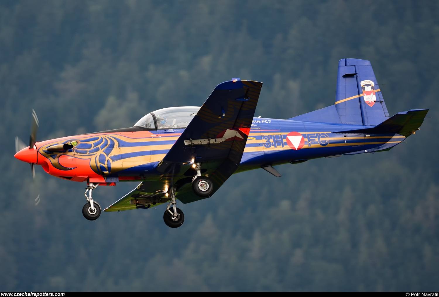 Austria - Air Force – Pilatus Aircraft PC-7 3H-FC