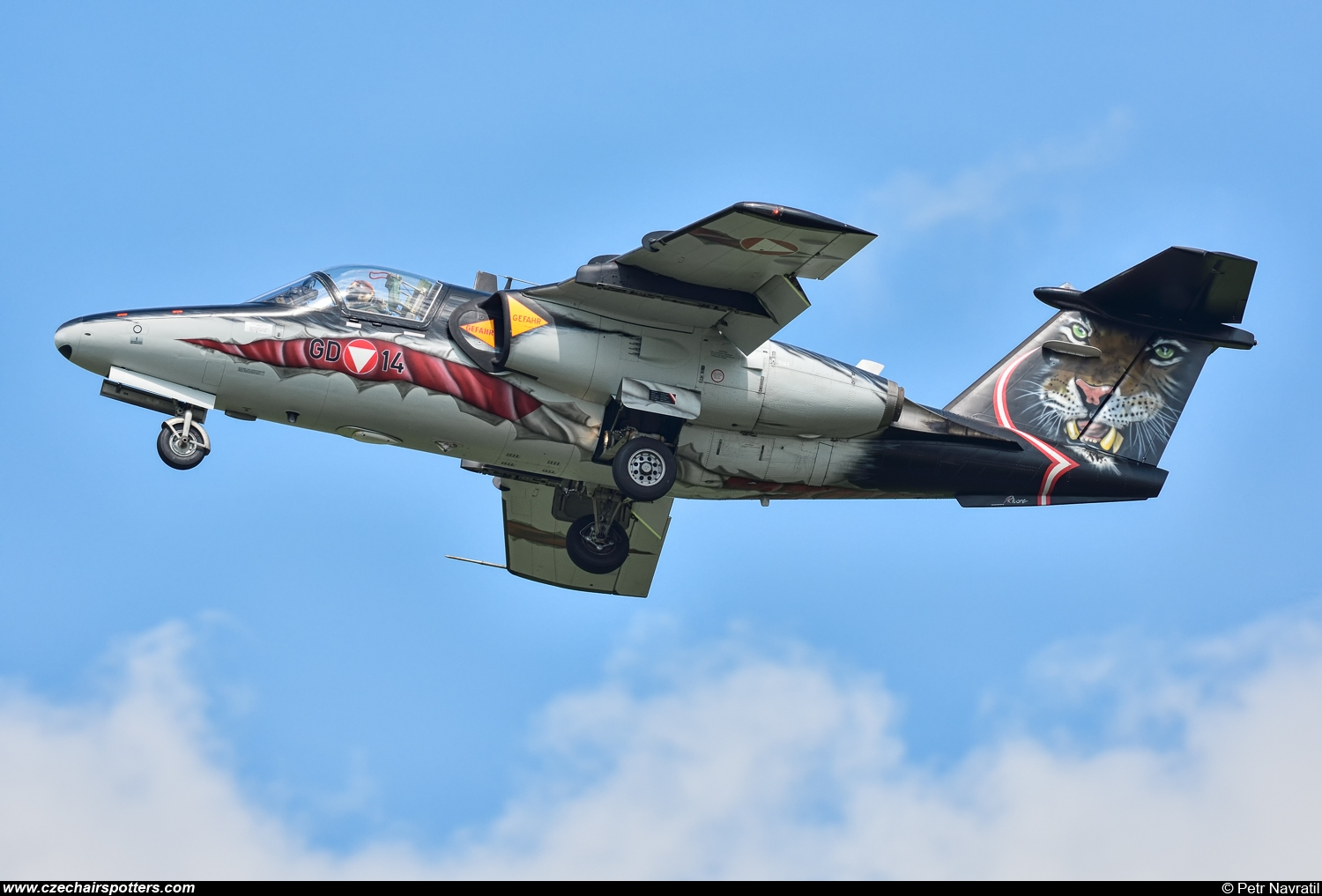 Austria - Air Force – Saab Saab 105OE GD-14/1114