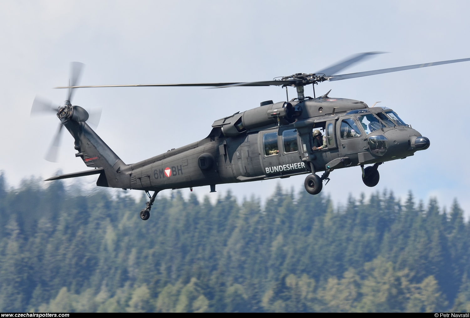 Austria - Air Force – Sikorsky S-70A Black Hawk 6M-BH