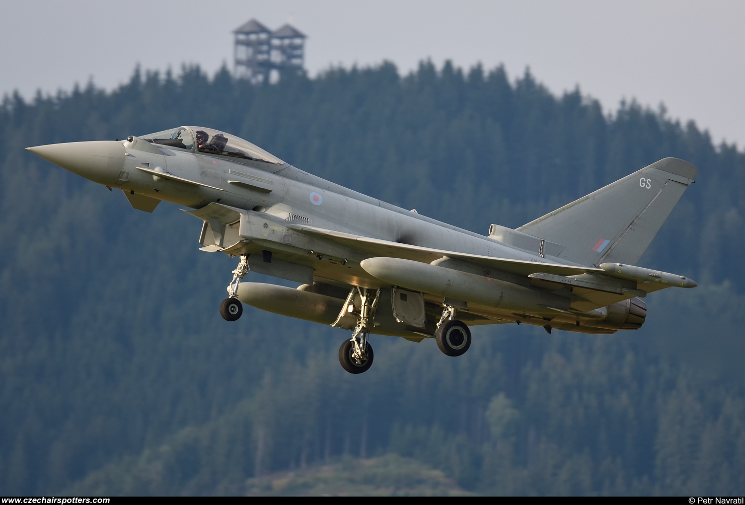 Royal Air Force – Eurofighter EF-2000 Typhoon FGR4 ZK322/GS