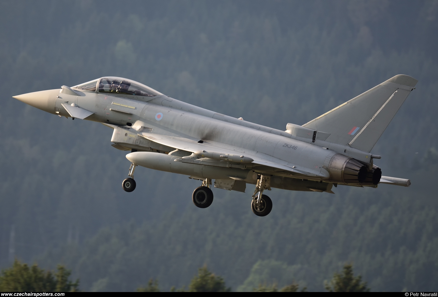 Royal Air Force – Eurofighter EF-2000 Typhoon FGR4 ZK346/ER