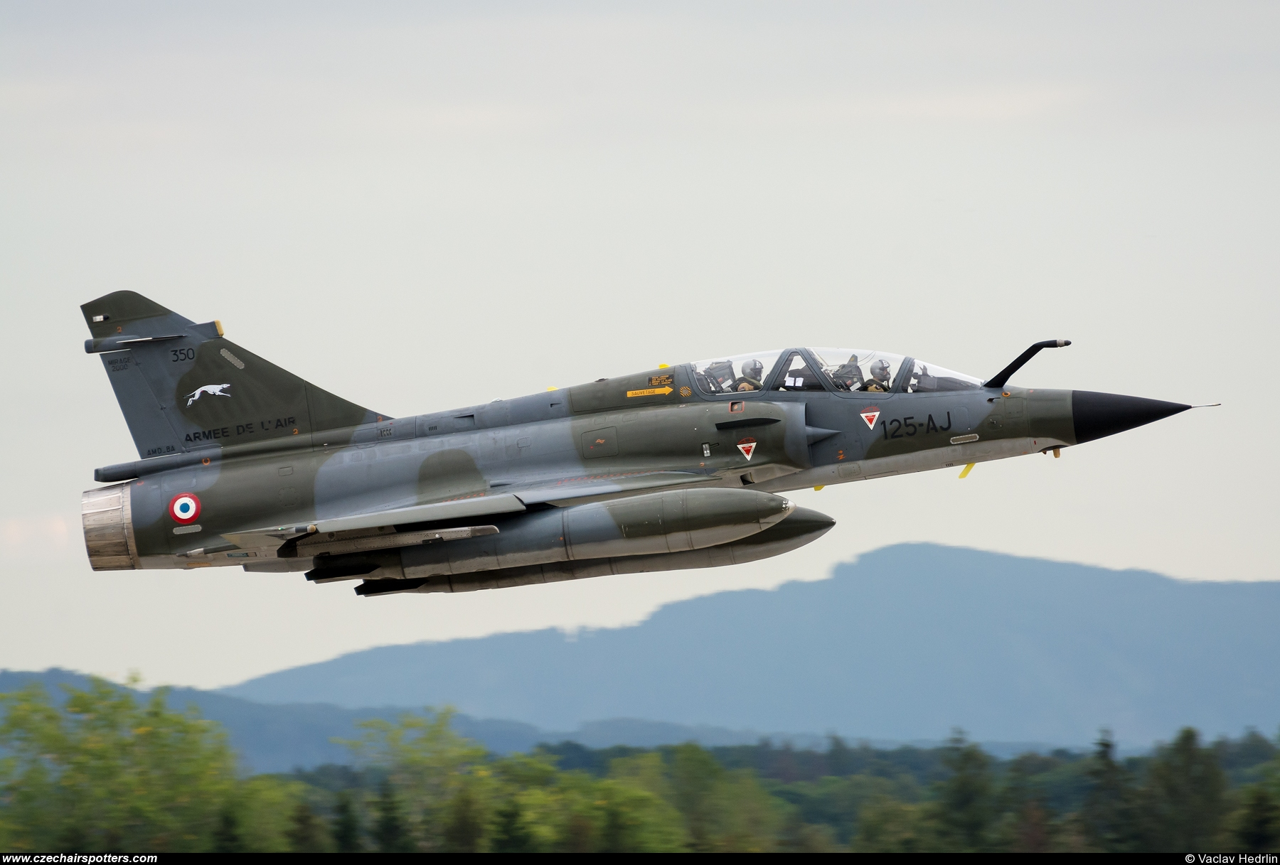 France - Air Force – Dassault Mirage 2000N 125-AJ
