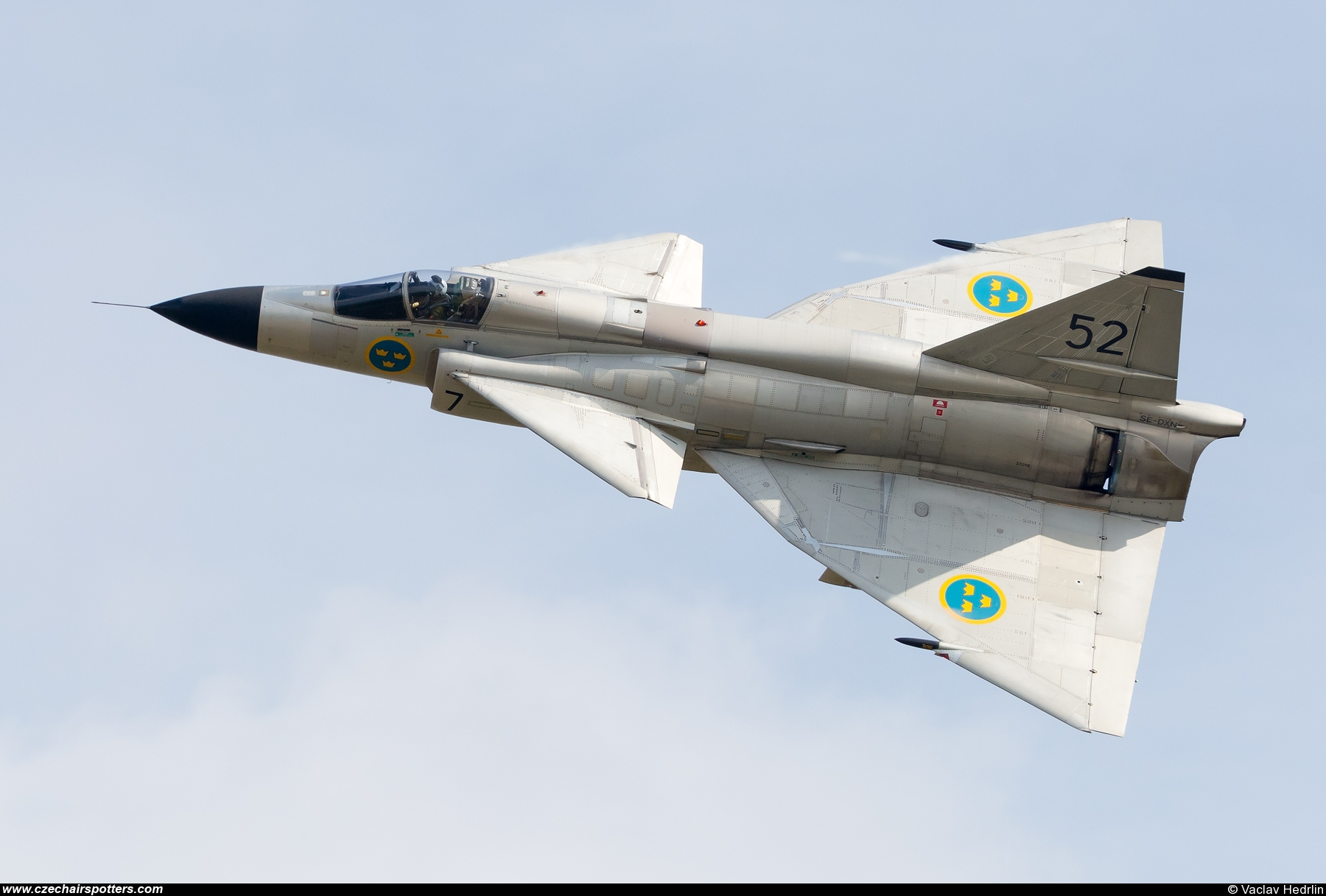 Sweden - Air Force – Saab JA37C Viggen SE-DXN / 52