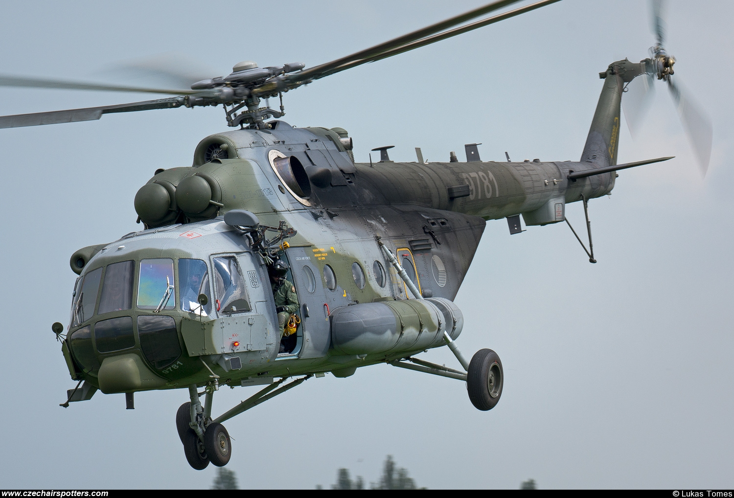 Czech - Air Force – Mil Mi-171Sh Hip  9781
