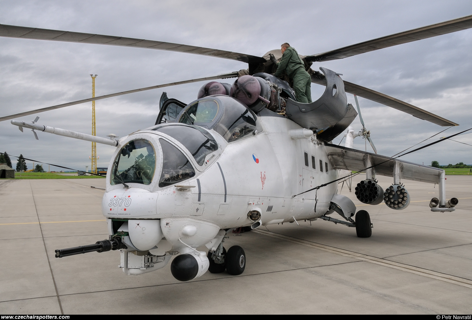 Czech - Air Force – Mil Mi-24V Hind 3370/PP-K