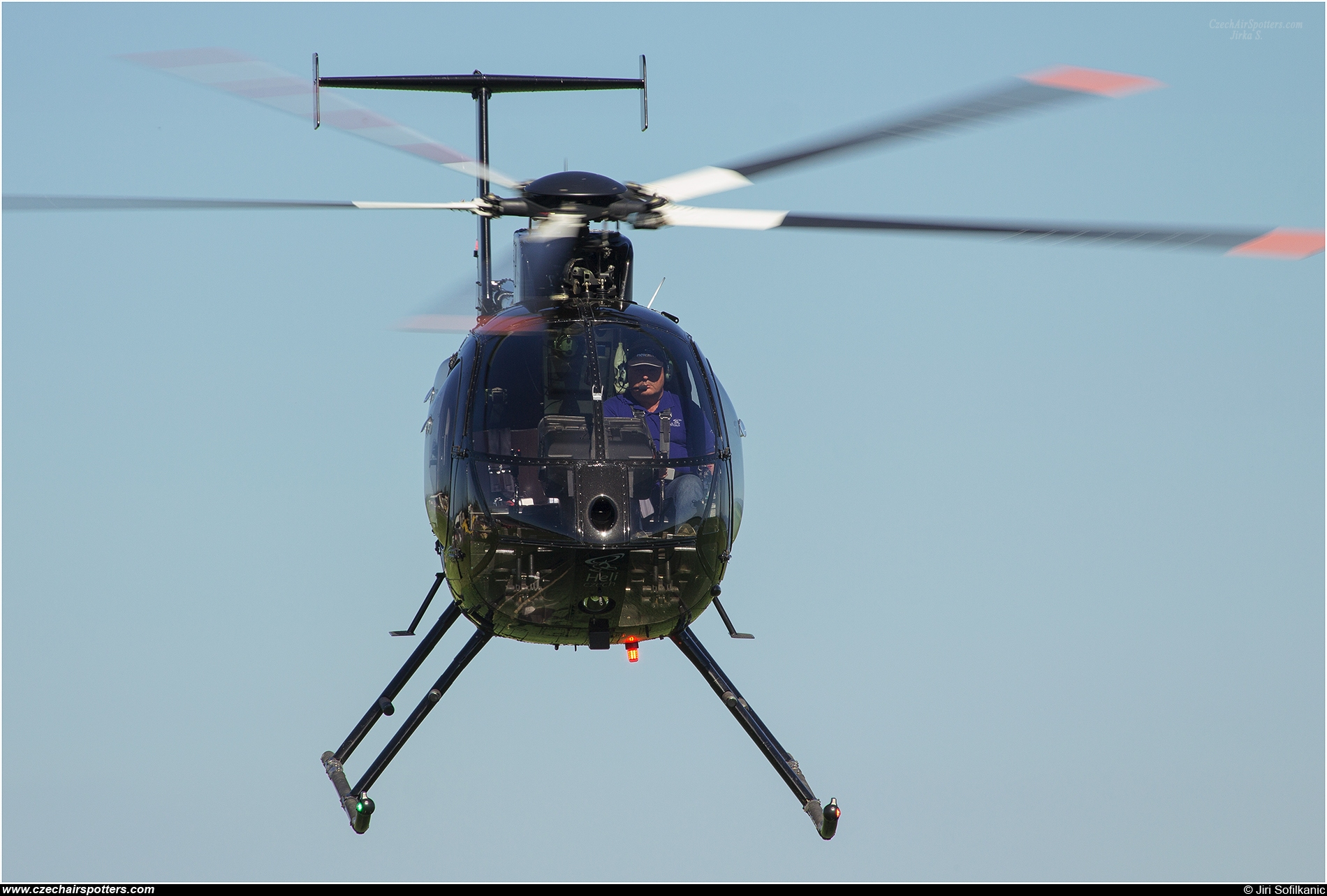 EUROPEAN AIR SERVICES – MD Helicopters MD 500E (369E) OK-HSO