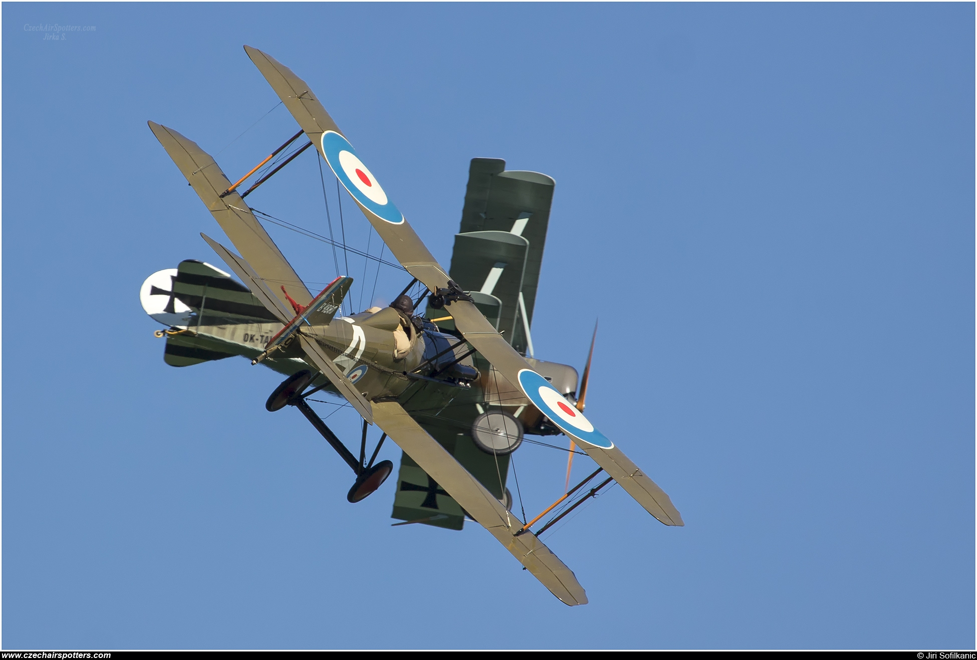 Pterodactyl ltd. – Royal Aircraft Factory S.E.5a ULL replica (Scout Experimental 5) OK-HUP 02